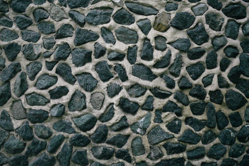 Ściana nierówni kamienie zdjęcie stock
