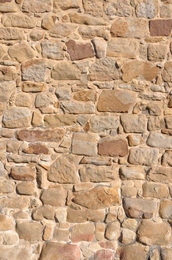 Ściana piaskowiec zdjęcia royalty free