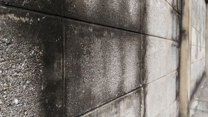 Ściana stary dom Robić ceglani bloki obraz royalty free