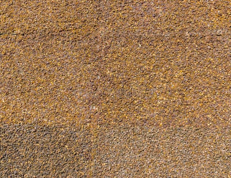 Ściana surowy bursztyn zdjęcia stock