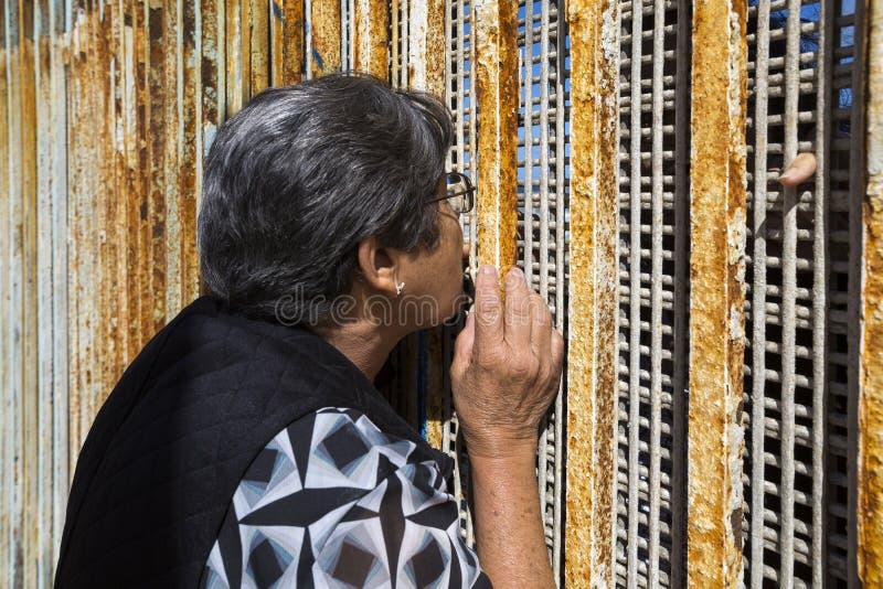 Ściana wstyd Meksyk, Tijuana - fotografia royalty free