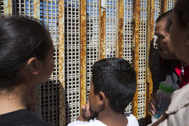 Ściana wstyd Meksyk, Tijuana - obraz royalty free