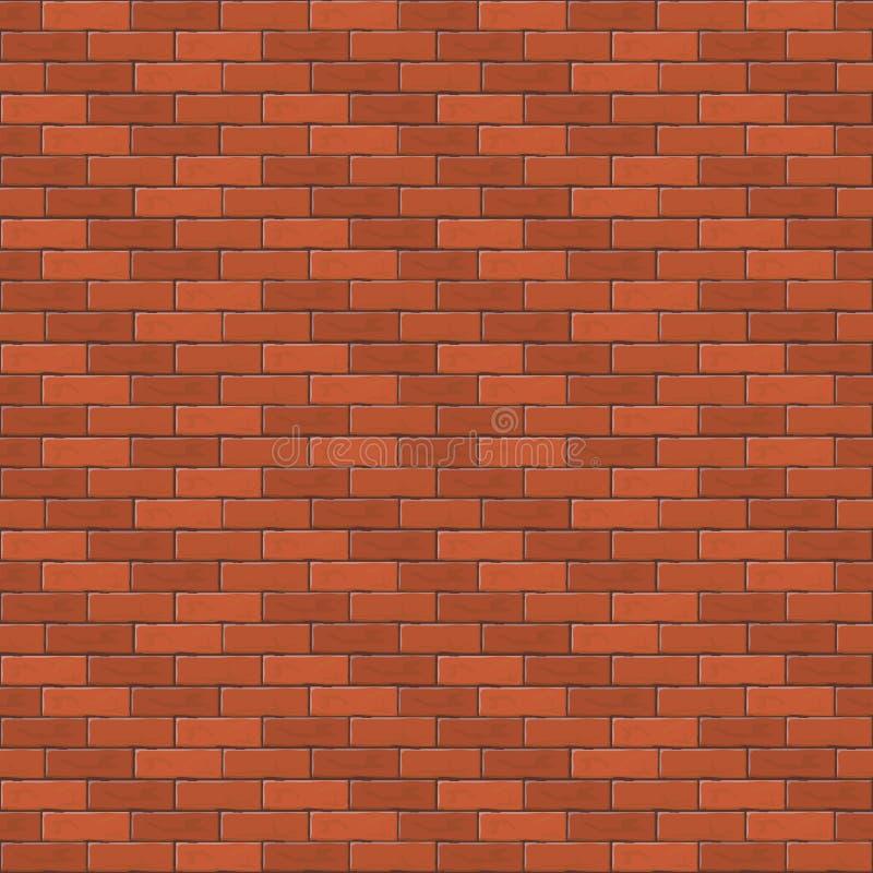 Ściana z cegieł ilustracji