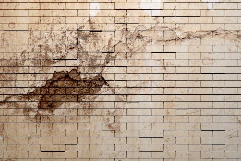 Ściana z cegieł royalty ilustracja