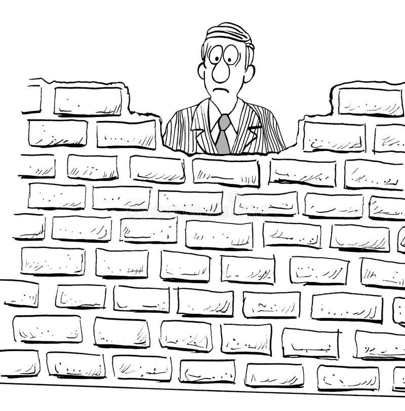 Ściana z cegieł ilustracja wektor