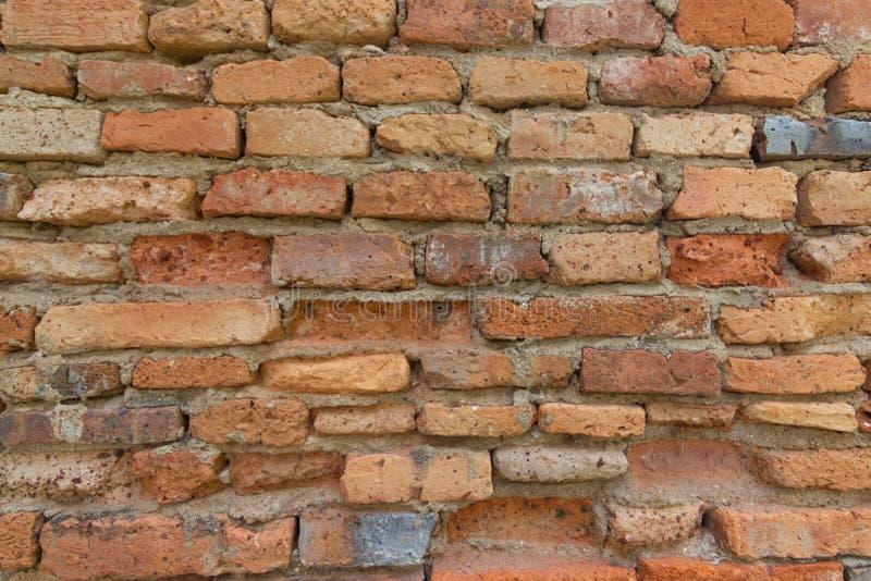 Ściana z cegieł dla przemysłu budowlanego zdjęcie royalty free