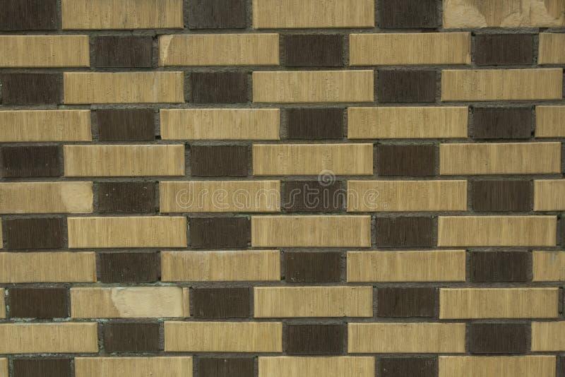 Ściana z cegieł dla wzorów i tło obraz stock