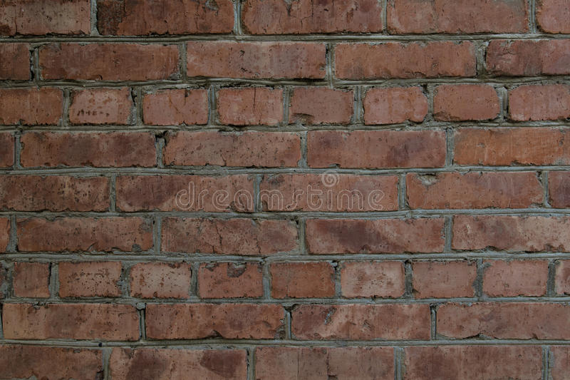 Ściana z cegieł dom fotografia royalty free