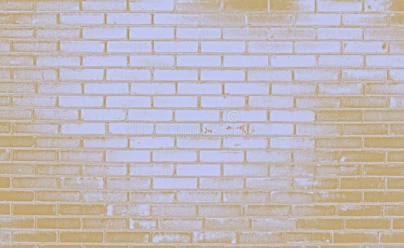 Ściana z cegieł, kolorowy backgraund zdjęcia stock