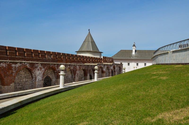 Ściana z cegieł Kremlin obrazy stock