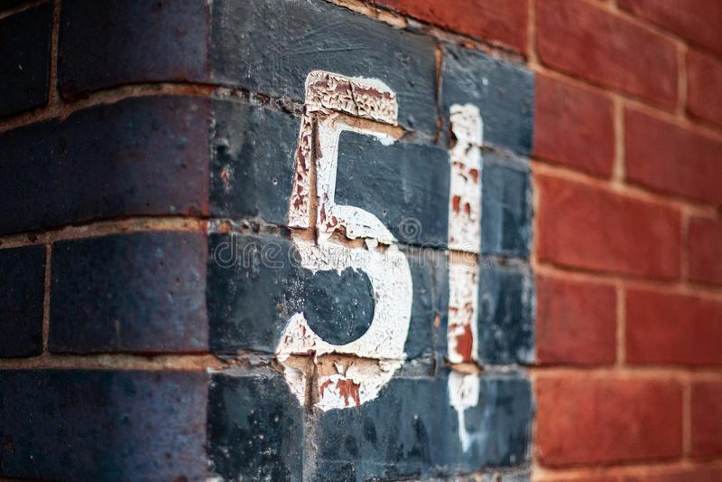51 ściana obraz stock