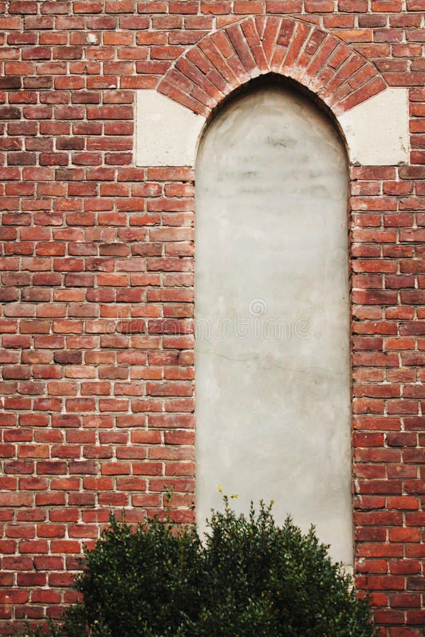 Ściana z cegieł tła architektoniczna tekstura obrazy stock