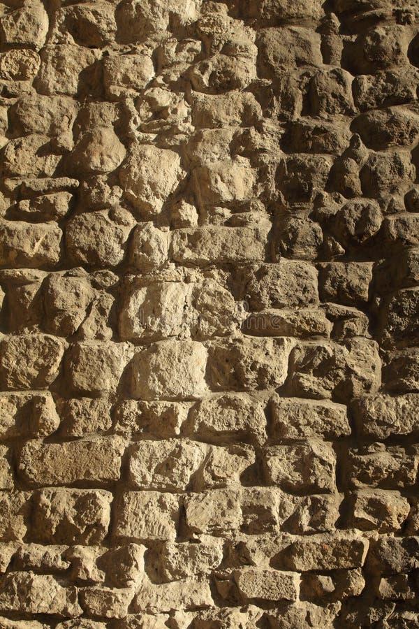 Ściana z cegieł tła architektoniczna tekstura obraz royalty free
