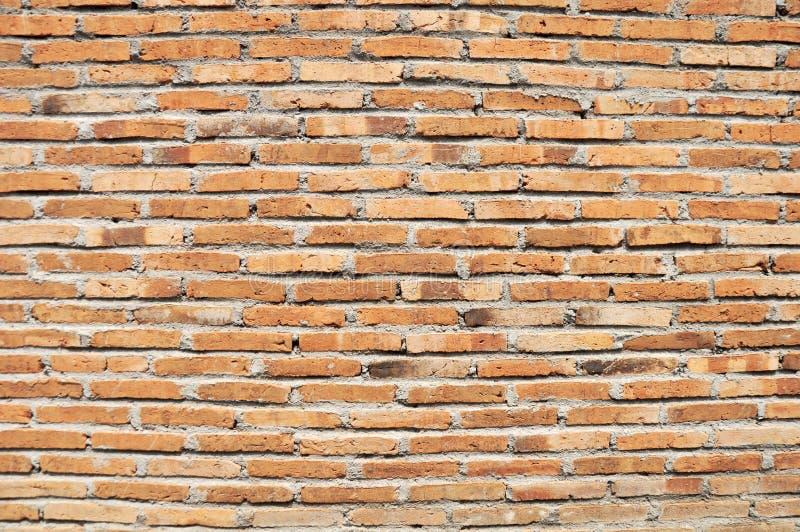 Ściana z cegieł tekstury abstrakta tła & cement obraz royalty free