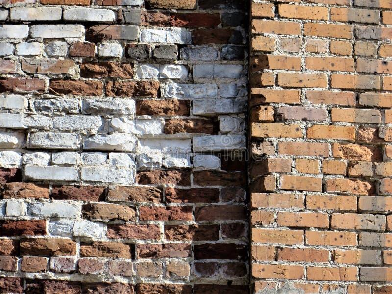Ściana z cegieł, Ybor miasto, Tampa zdjęcie stock