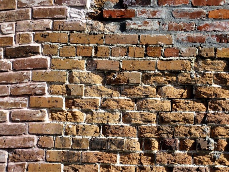 Ściana z cegieł, Ybor miasto, Tampa obraz stock