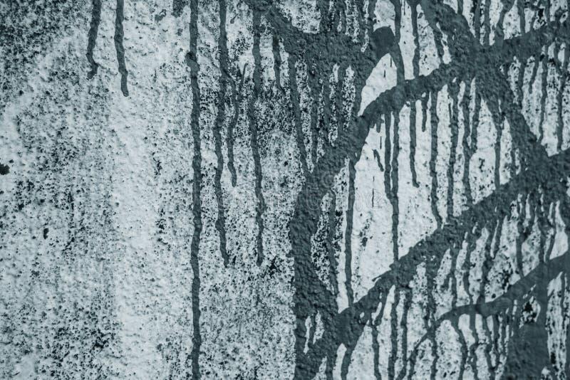 Ściana z kiści farby teksturą zdjęcie stock