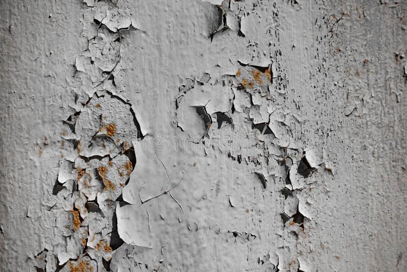 Ściana z krakingowej i obierania farbą fotografia royalty free