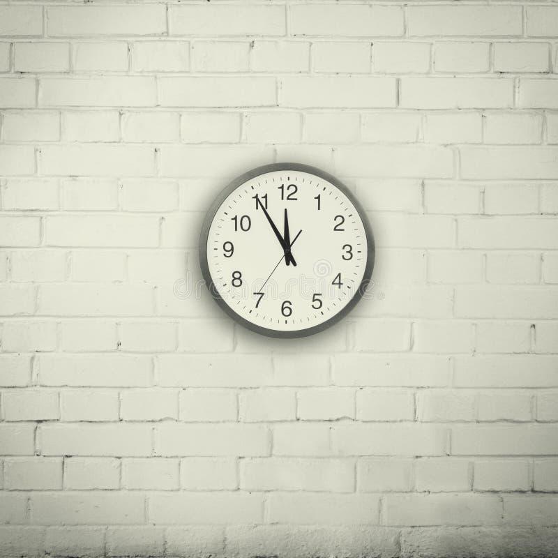 Ściana z zegarem obrazy stock