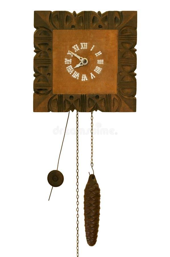 ściana zegara zdjęcie royalty free