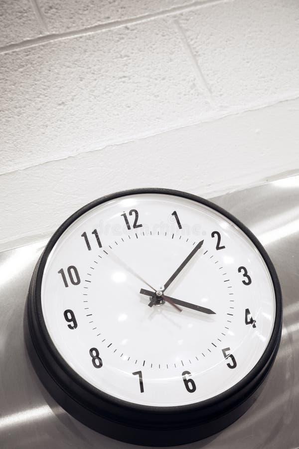 ściana zegara obraz royalty free