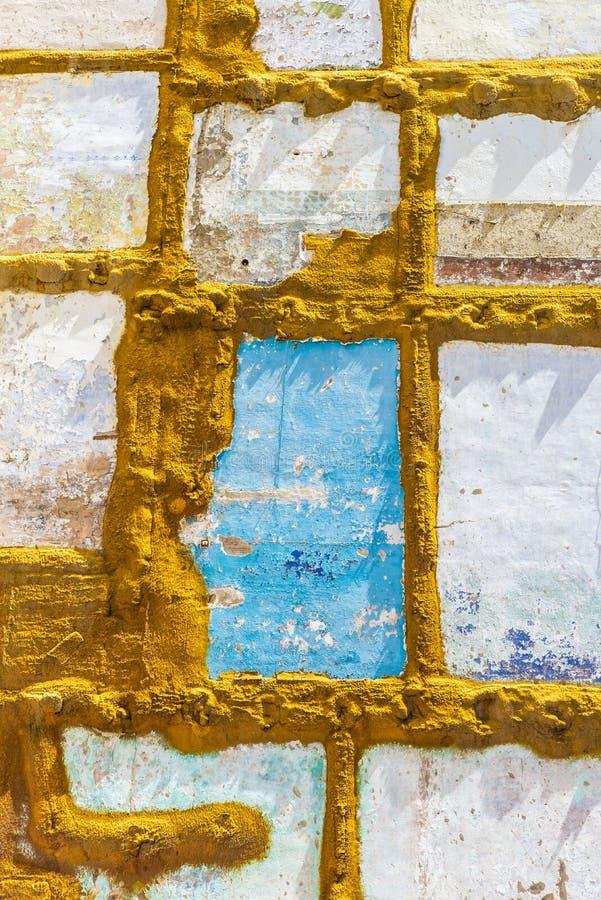 Ściany dom wyburzający obrazy stock