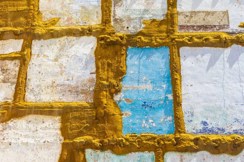 Ściany dom wyburzający zdjęcia stock