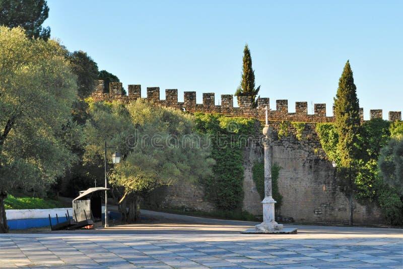Ściany i pręgierz zdjęcia royalty free