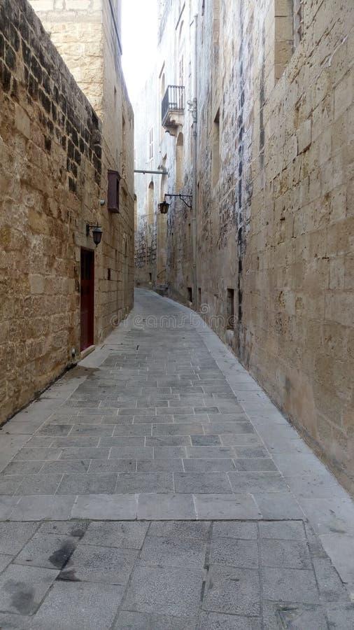 Ściany & ulica od miasta obraz stock