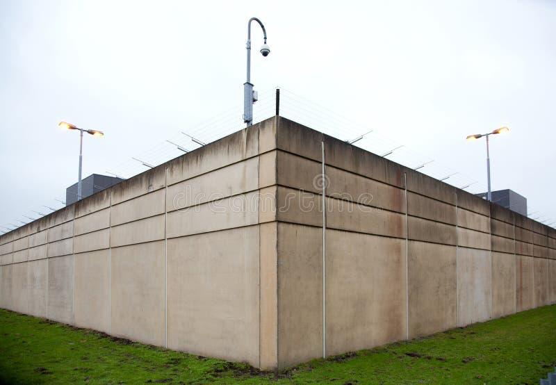 Ściany więzienie obrazy royalty free