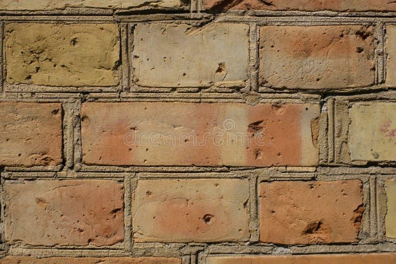 Ściany z cegieł tło ścienny tło - rocznik kamiennej ściany zbliżenie - fotografia stock