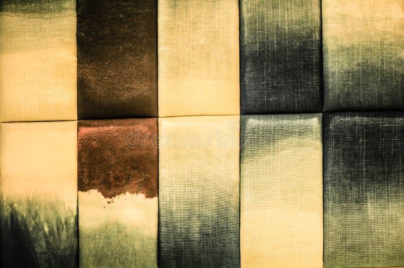 Ściany zrobią bawełniana tkanina obraz stock