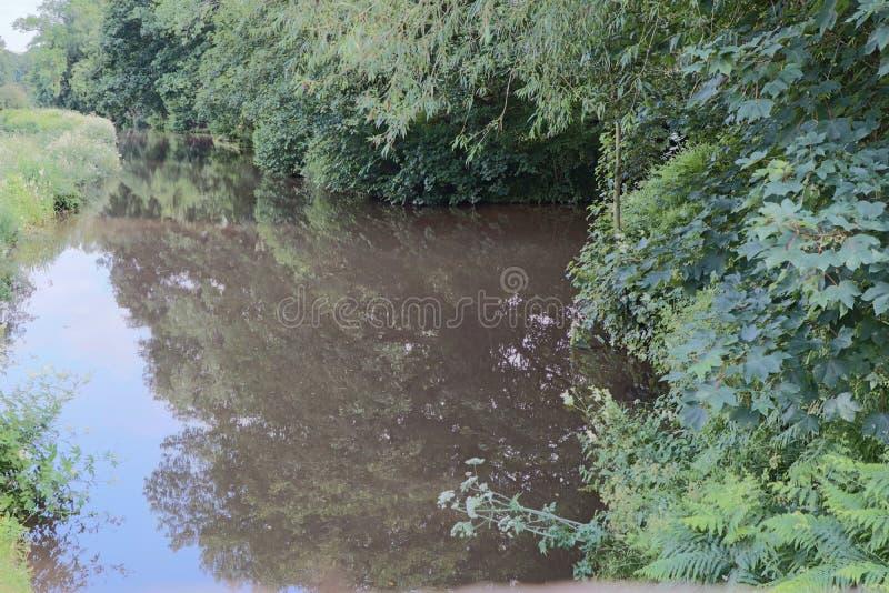 Ścieżka kanału i palca zdjęcia stock