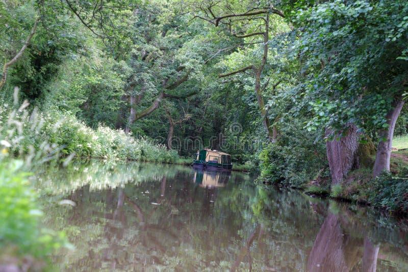 Ścieżka kanału i palca zdjęcia royalty free