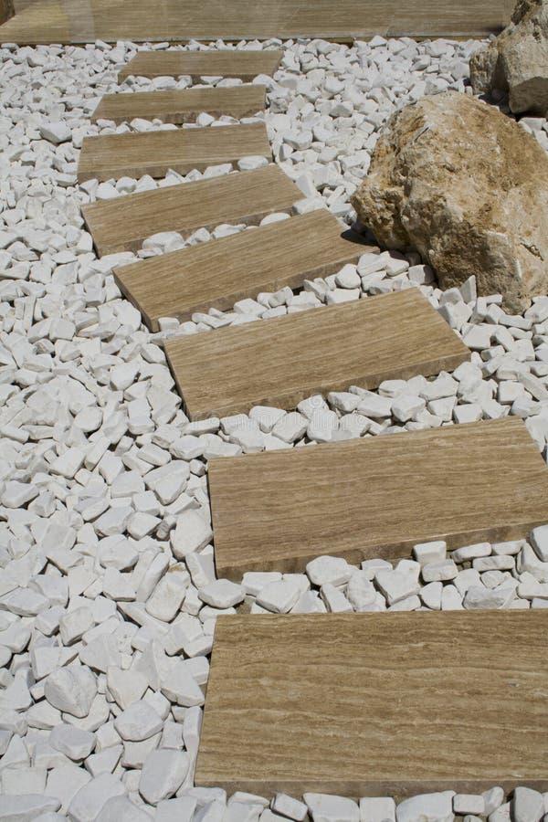 ścieżka marmurowa zdjęcie stock