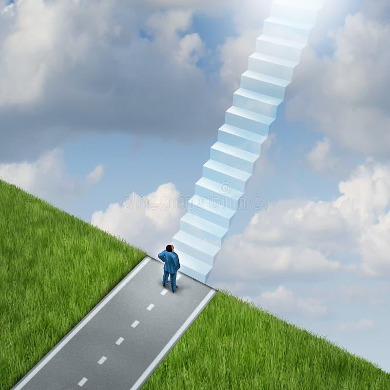 ścieżka nieba royalty ilustracja