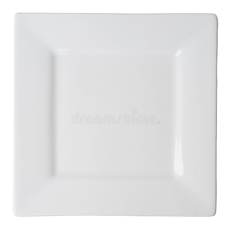 ścieżka odizolowane przycinanie płytkę square white obraz royalty free
