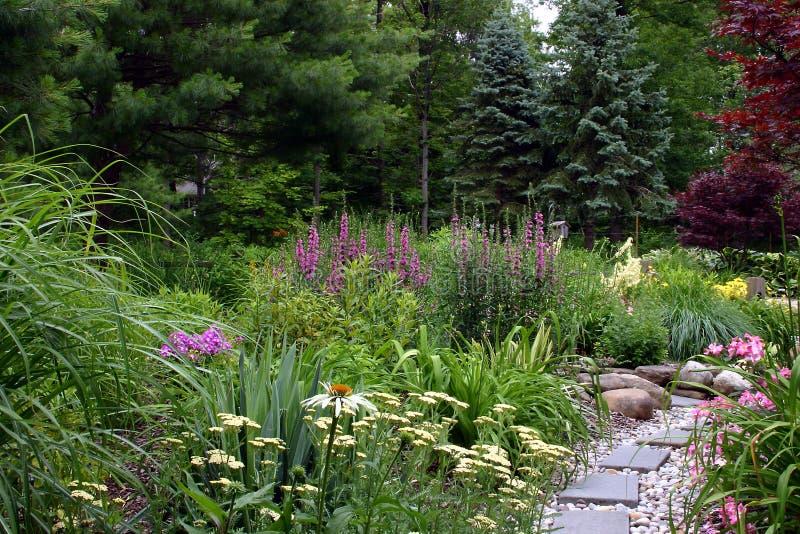 ścieżka ogrodowa obrazy royalty free