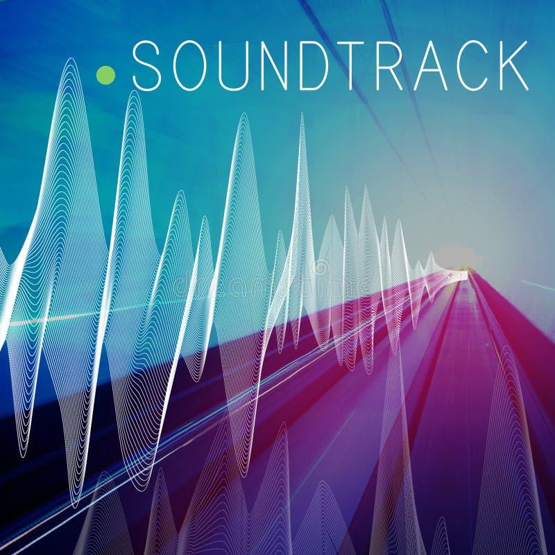 Ścieżki dźwiękowa tła równowagi środków Audio pojęcie zdjęcia royalty free