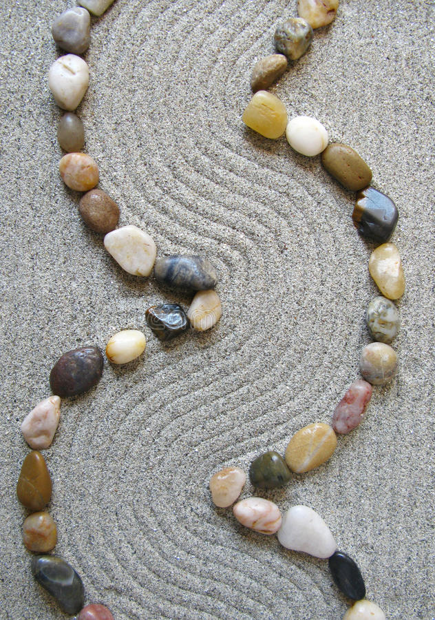 ścieżki ogrodowy zen obrazy royalty free