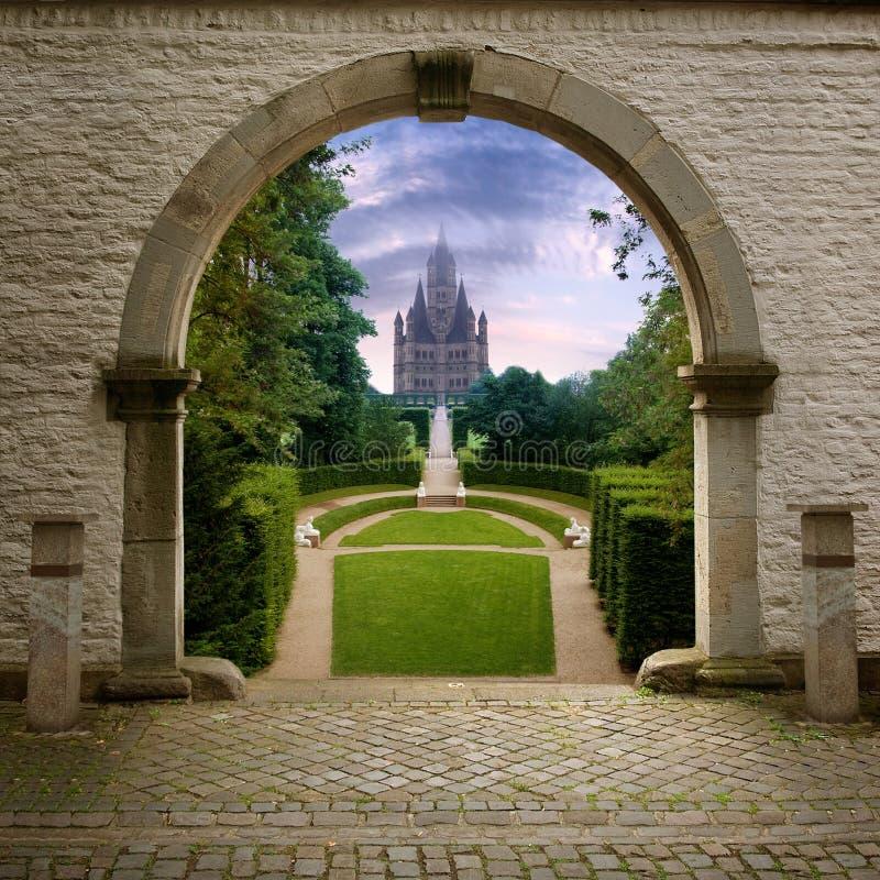 ścieżki thecastle obraz royalty free