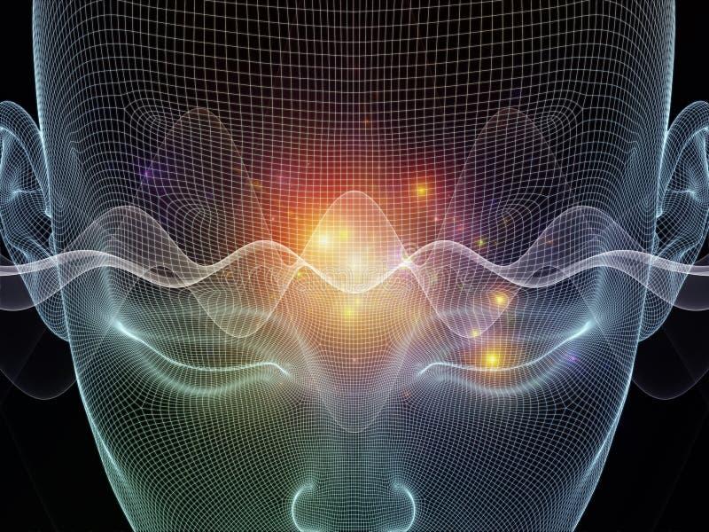 Ścieżki umysł ilustracja wektor
