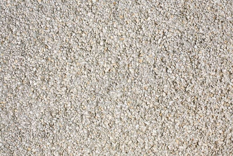 Ścienna powierzchnia od małych białych kamieni zdjęcie royalty free