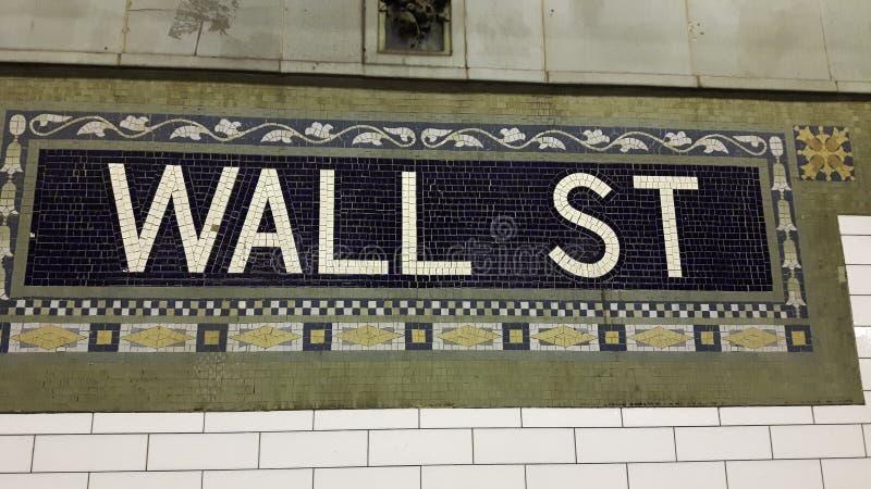 ścienna uliczna mozaika w staci metru zdjęcie stock