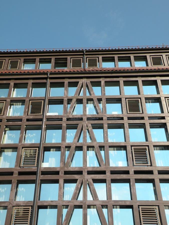 ścienni okno zdjęcie stock