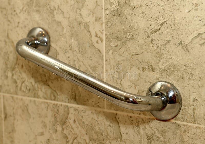 Ścienny chwyt w łazience obrazy royalty free