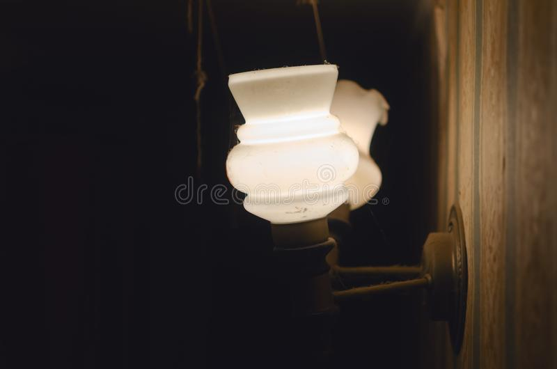 Ścienny lampion obraz stock