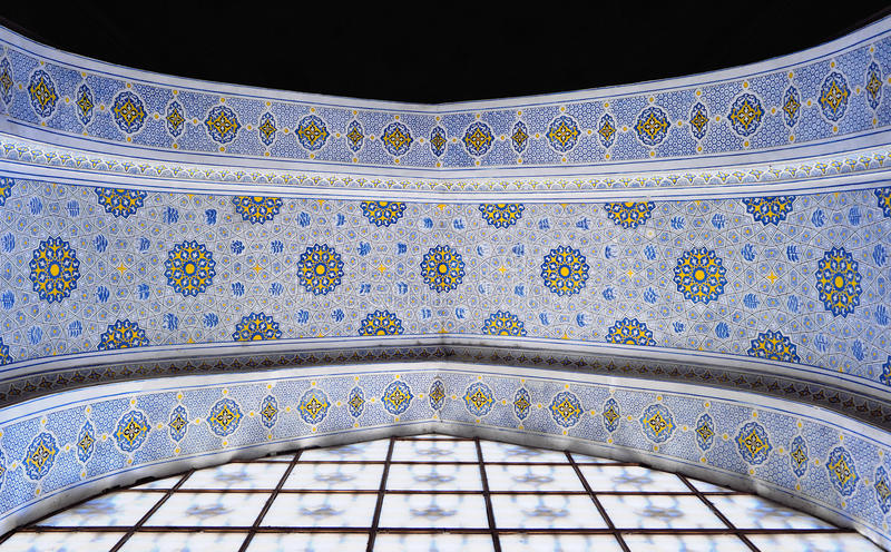 Ścienny obraz Koka Gumbaz meczet, Uzbekistan obraz royalty free