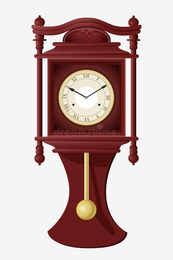 Ścienny Zegar royalty ilustracja