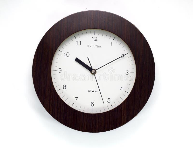 Ścienny zegar obraz royalty free